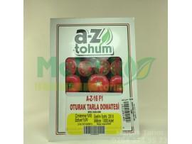 A-Z Tohum 16 F1 Hibrit Sofralık Sırık Domates Tohumu 1000 Adet