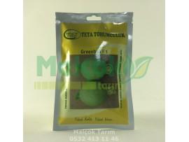 Teta Greenball F1 Hibrit Yeşil Top kabak Tohumu 500 Adet
