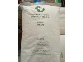 The World Akça Beyaz Nohut Tohumu 25 Kg